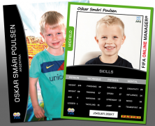 Personal Football Trading Cards